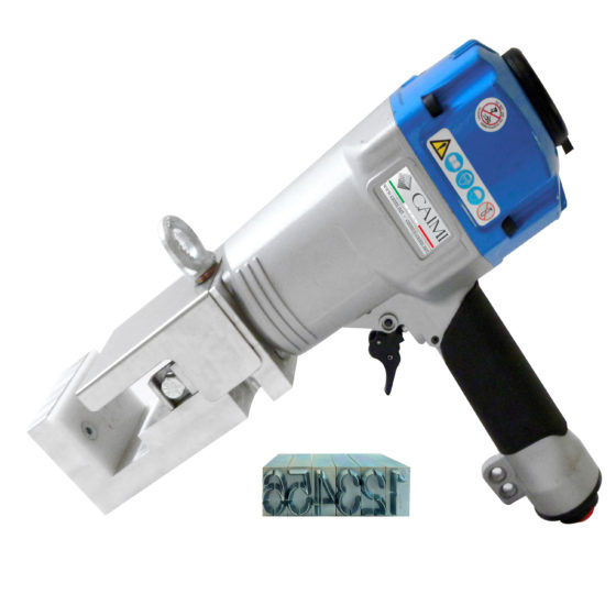 pneumatic stamping hammer leather tannery marking wet blue compressed air